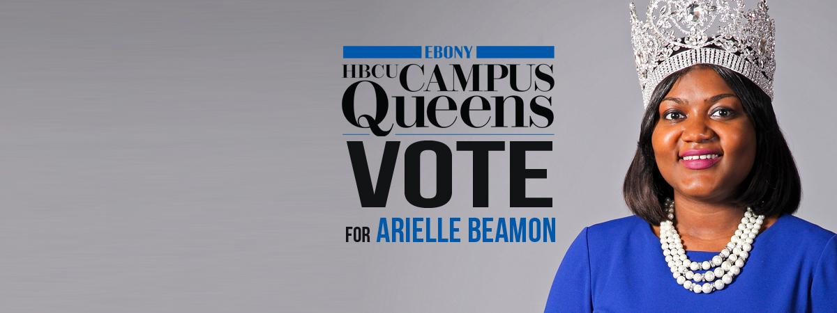 Vote for Arielle Beamon