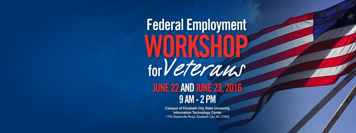 Federal Employment Workshop