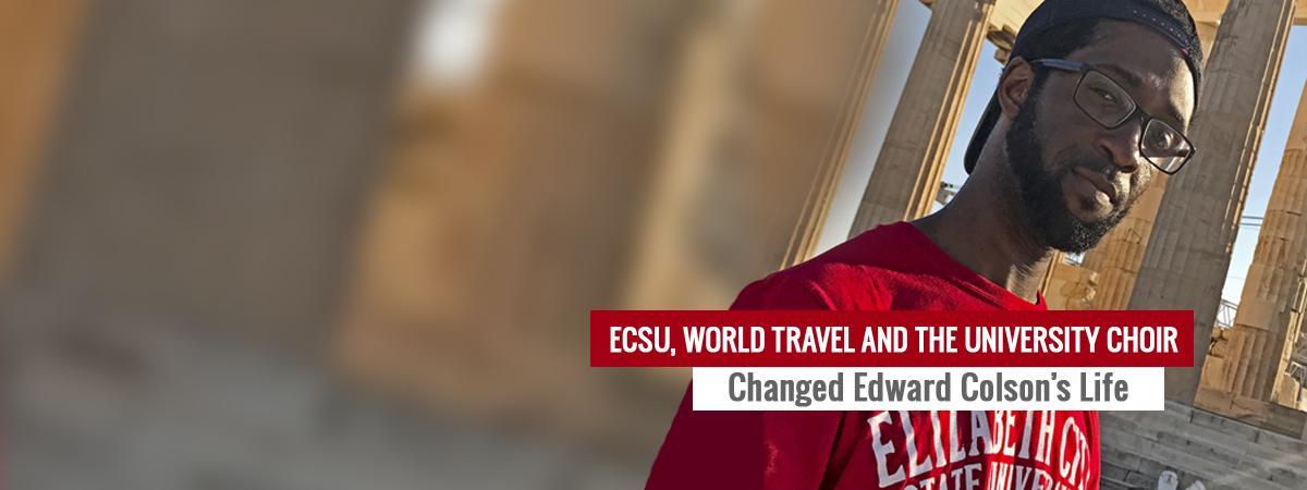 Edward Colson travels abroad