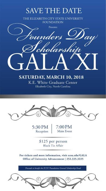 Founders Day Scholarship Gala Flyer