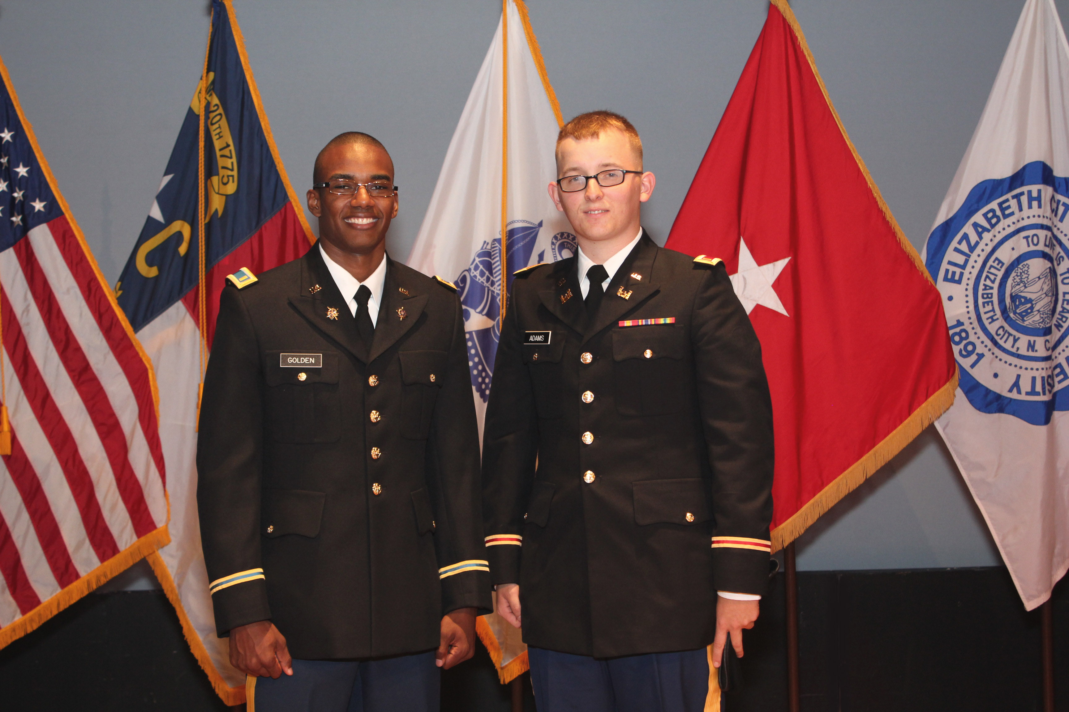 two cadets commissioned may13