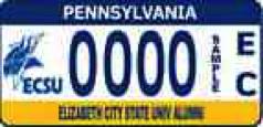 Pennsylvania License Plate