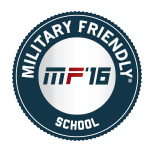 2016 Military Friendly School Logo