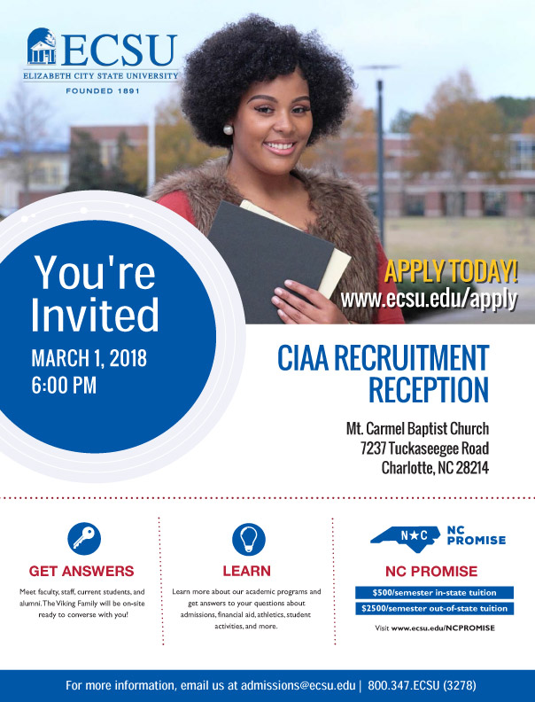 CIAA Recruitment Reception