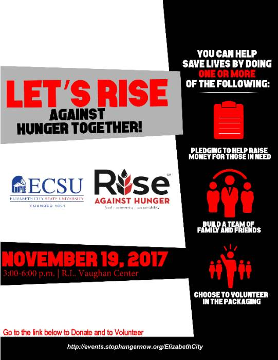 Rise Against Hunger Poster