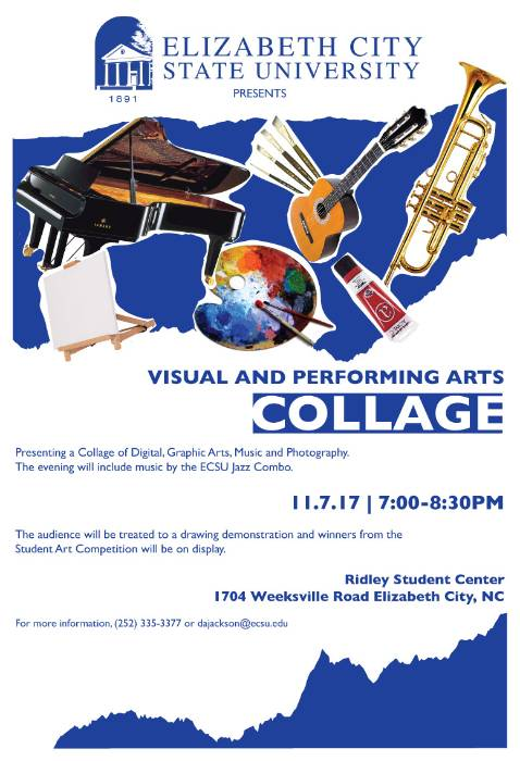 Visual Arts Collage Poster