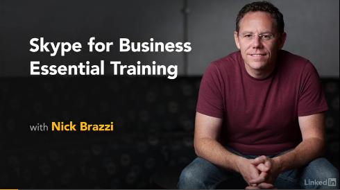 Skype for Business Training on Lynda.com