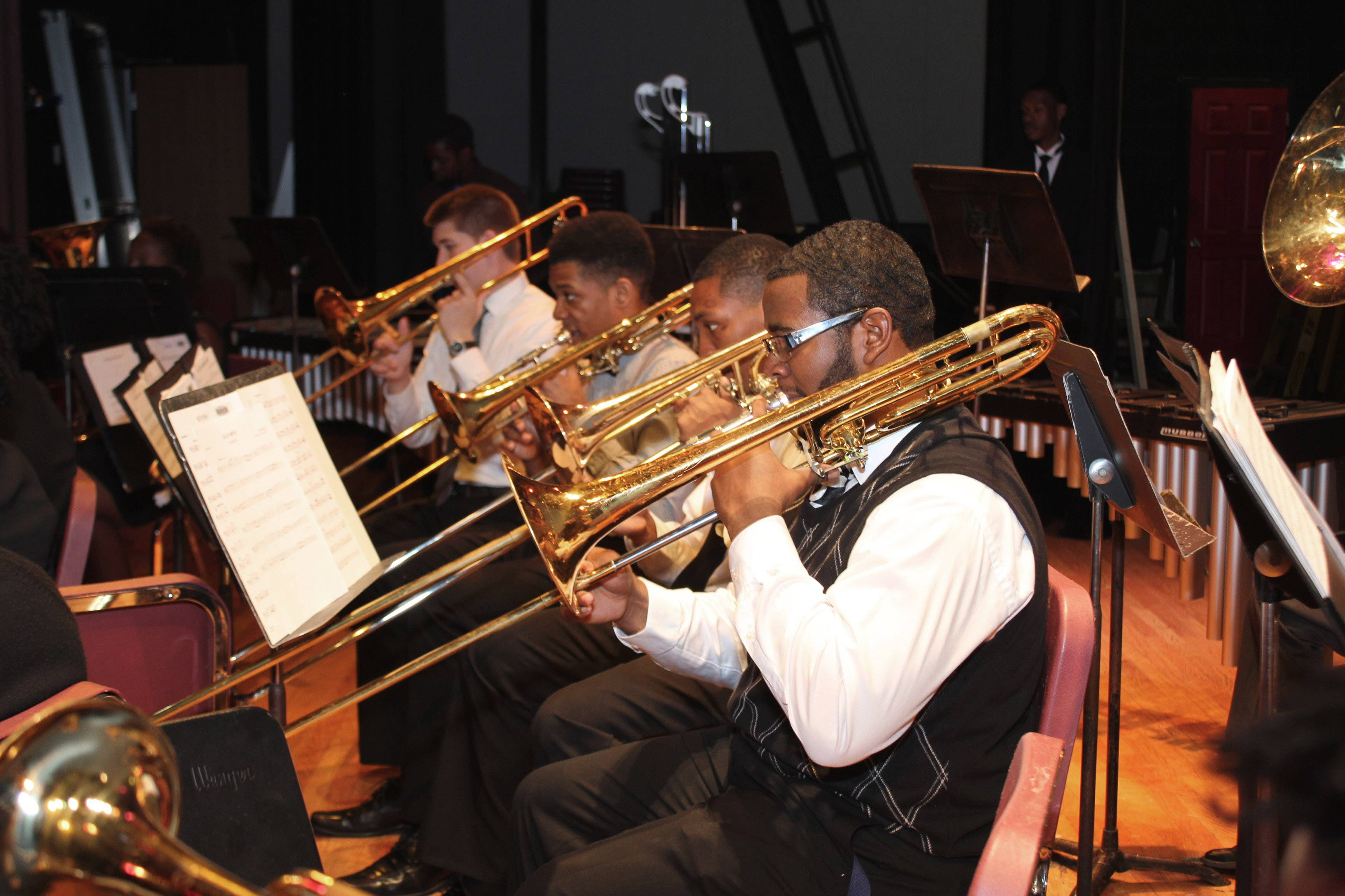 Gatling performs with Jazz Ensemble