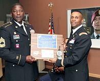 Barnes Leaves ROTC