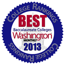 Washington Monthly ranks ECSU #1