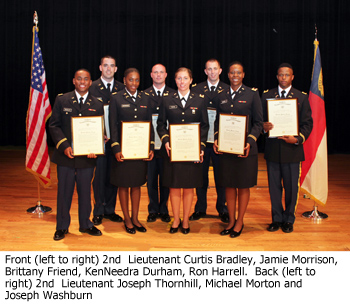 Eight new officers in US Army