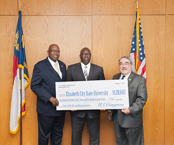 Rep. Butterfield delivers $387,544 to ECSU