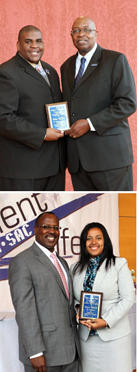 McNair and Edwards win 20120 leadership awards