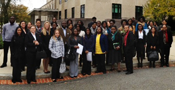 ECSU students attend national security colloquium