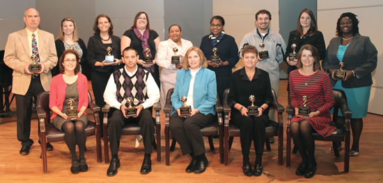 ECSU recognizes area Teachers of the Year