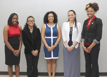 Nine ECSU students inducted into Who's Who