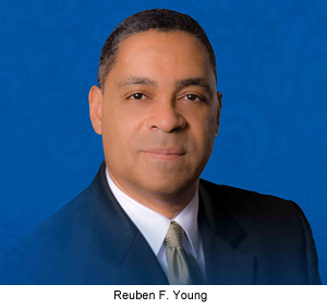 reuben f young secretary of the n c department of