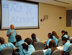 Ace Academy summer campers are introduced to STEM related careers through activities, field trips and more.