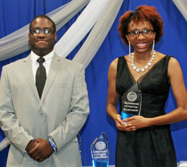 Viking Spirit Award for Viking Humanitarian Goes to the ECSU Women's Center
