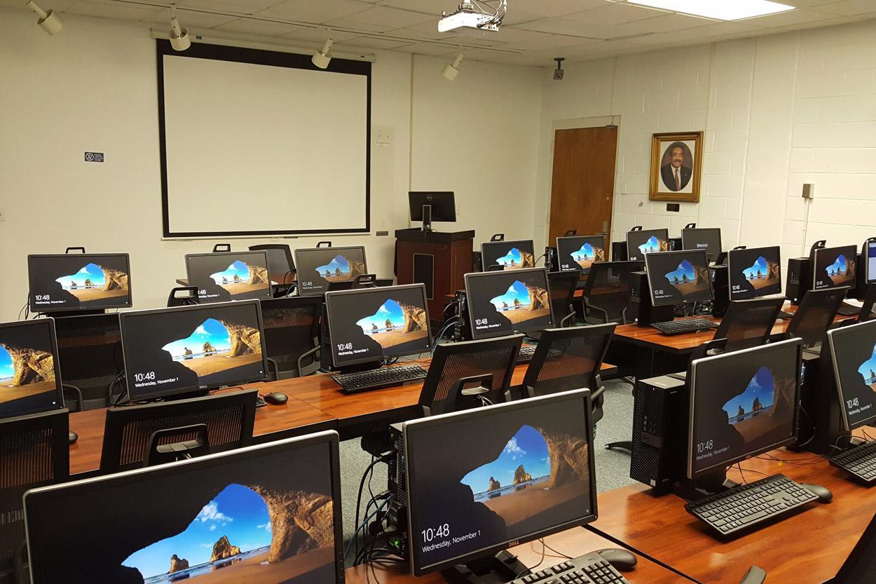 G.R. Little Claude Green Computer Lab