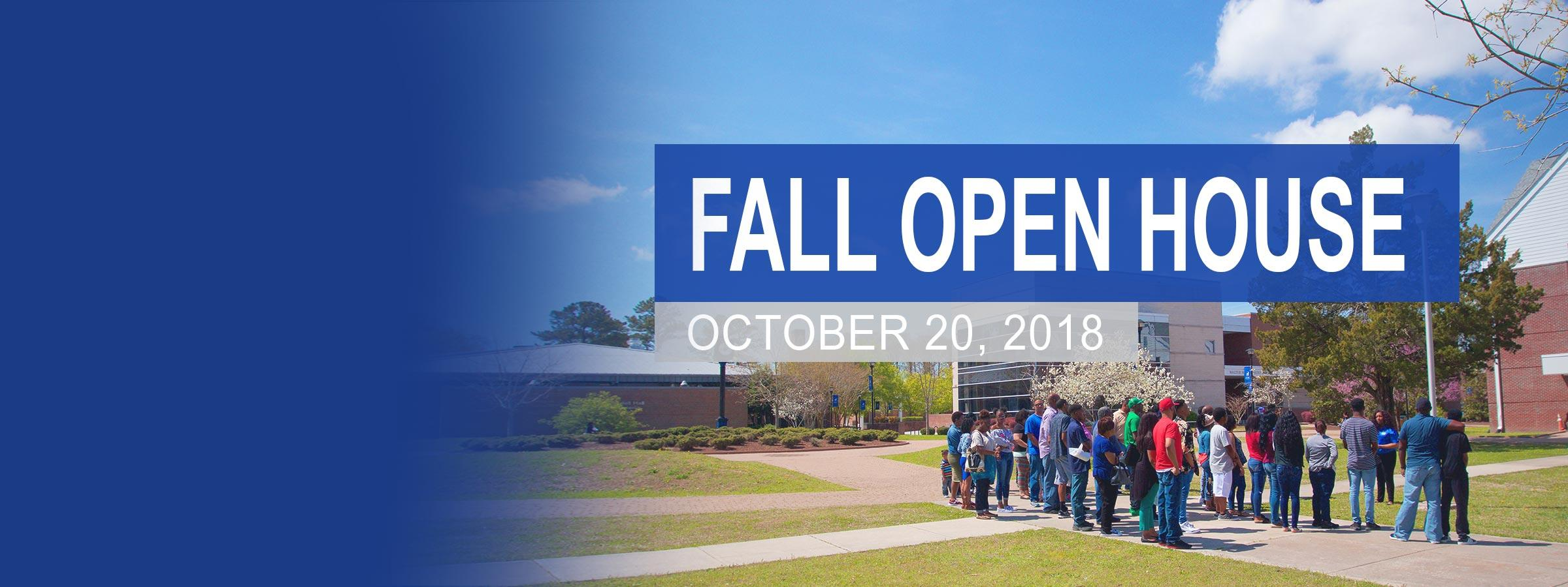 Open House: October 20th