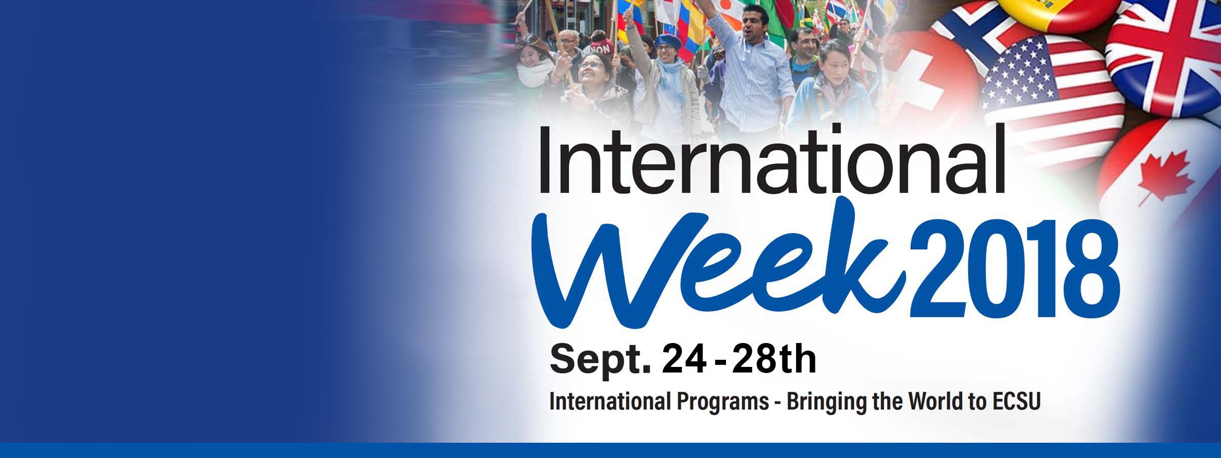 It's International Week!