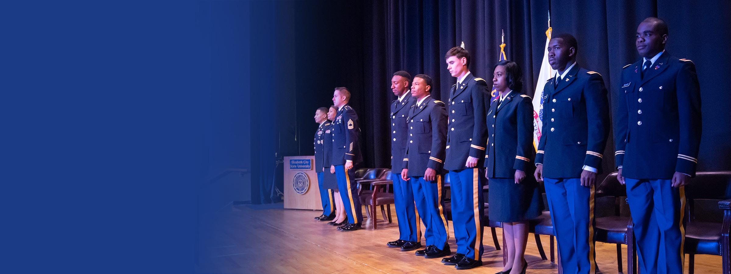 Six New Army Officers