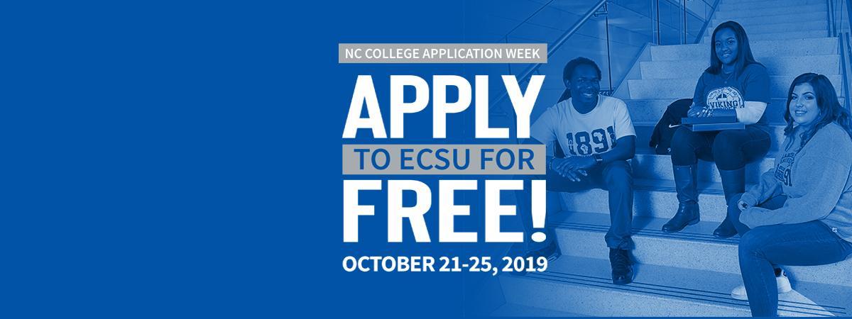 Apply TO ECSU!