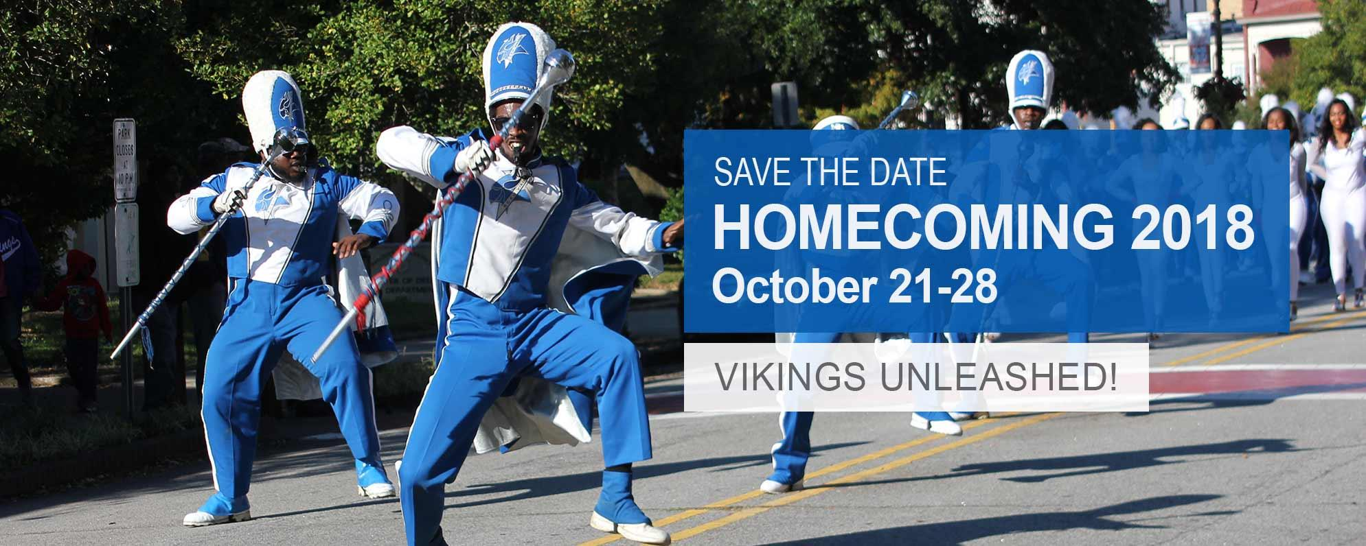 Save the Date: Homecoming 2018