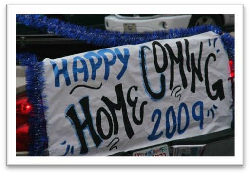 Homecoming Sign Example 3
