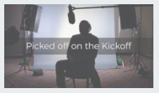 Rapid7 video - picked off on the kickoff