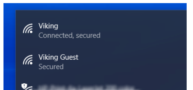 connecting windows 10 to wifi