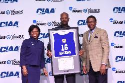 Gaskins now a CIAA hall of fame athlete