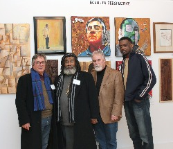 ECSU artistis display at AOA