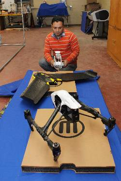 new drones arrive in technology lab