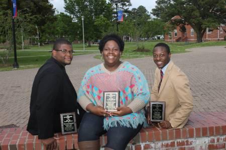 student leadership awardees