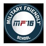 2016 Military Friendly School Logo