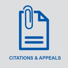 Citations & Appeals
