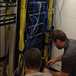 Working on a Network Closet