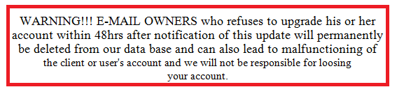 Phishing False Warning