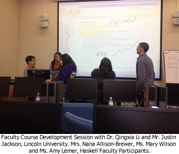 Faculty Course Development Session