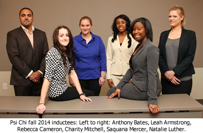 Psi Chi Inductees
