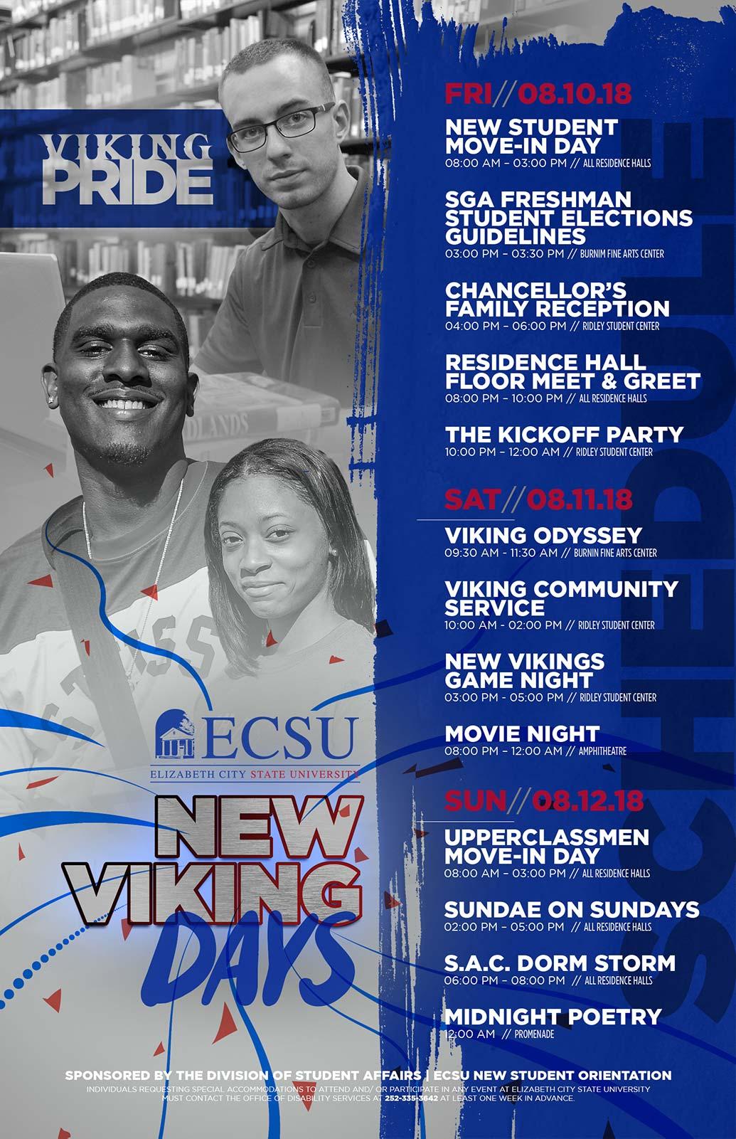 New Viking Days Event Schedule