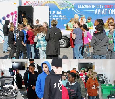 Mobile STEM lab unveiling