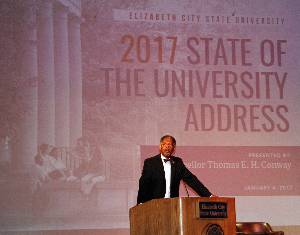 Chancellor Conway State of Univ 2017